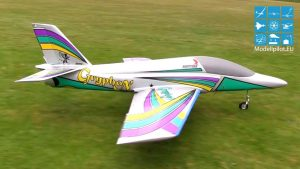 CRYPHON JET KNUT HINZ RC TURBINE SPORT JET FLIGHT BVM BERLIN RAGOW ASCENSION FETE
