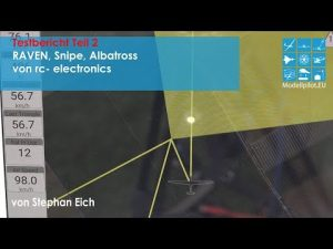 Raven, Snipe, Albatross - GPS-Triangle - Testbericht Teil 2 rc-electronics
