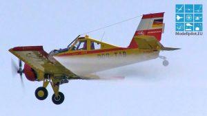 PZL-106 AR KRUK GEHLING FLUGTECHNIK GMBH AGRICULTURAL AIRCRAFT Flight ILA BERLIN AIR SHOW
