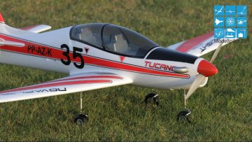 "RC Elektromotorflugzeug TUCANO NOVAFLIGHT VIDEO TESTREPORT ""FLUGBERICHT/FAZIT NACH 3. FLUG"" TESTBERICHT RC SCHAUMMODELL TEST"