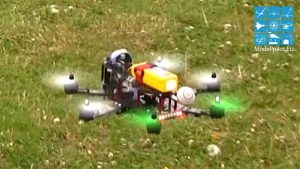 HEXACOPTER RC MULTIKOPTER AEROBATIC FLIGHT BVM BERLIN RAGOW ASCENSION FETE