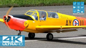 RC SAAB 91B-2 SAFIR 1: 3,9 JAN LODNER (NOR) F4 SCALE WORLD CHAMPIONSHIP MEIRINGEN [4K]