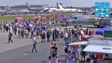 RC Veranstaltungen IMPRESSIONS OF THE AIRFIELD ON THE ILA BERLIN AIR SHOW 2016 EXPOCENTER AIRPORT