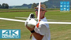 새로운! LIBELLE H301 1 : 3,5 JETEC E-80 FW- 모델 RC 글라이더 DG 808 S 및 ASH 31 MI MIG 비행 임펠러 [4K]