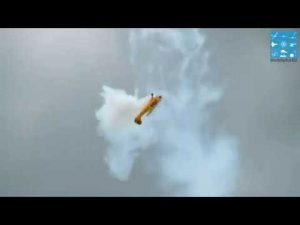 AMAZING XXXL PIPER J-3 CUB CLIPPED + EDGE 540T RC AEROBATIC FLIGHT