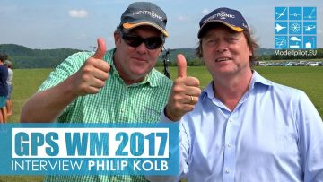 RC Interviews PHILIP KOLB INTERVIEW winner of both classes GPS TRIANGLE WM 2017 RC SCALE GLIDER COMPETITION