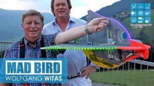 RC MAD BIRD HOBBYKING EPP 키트 볼프강 위 타스 인터뷰 TANNENALM DAWN FLIGHT with LED 조명 [4K]