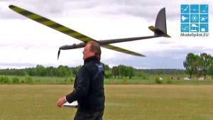 PACE VX3.8 LESKYCOMPOSITE fluturuar nga STEPHAN EICH RC GLIDER DEMOFLIGHT