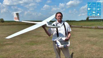 """RC Testberichte DG 600 von Staufenbiel """"FlugberichtT"""" Video RC Segelflugzeug Glider Testreport Test"""