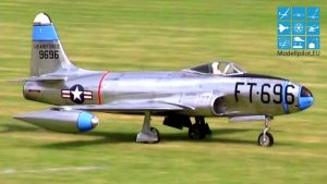 JET ELEKTRIK I Mahnitshëm F-80C FRANK WEGNER RC TURBINA JET 13,5 KG SHKALLA KLAS