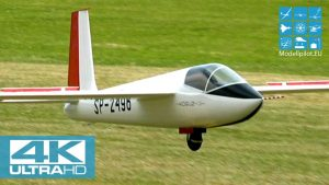 SZD-21 KOBUZ 3, MÜ-28 & SH-2H 50 % 1 : 2 RC 글라이더 AEROBATIC FLIGHTS DG-FLUGMODELBAUTECHNIK [4K]