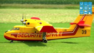 XXXL GIGANT TWIN-JETTURBOPROP CANADAIR CL-145 RC AMPHIBIOUS FIREFIGHTING AIRCRAFT PHILIPPE PEULTIER