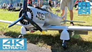 DOUGLAS A-1 SKYRAIDER 1 : 5,6 MARTIN ERHARD (GER) F4 SCALE WORLD CHAMPIONSHIP MEIRINGEN [4K]