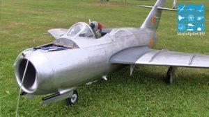 MIG-15 MARTIN SCHEMPP RC TURBINE JET GERMAN CHAMPIONSHIP 13,5 KG NPLAI QIS