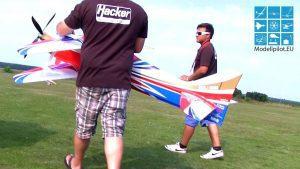 KETERAMPILAN MENAKJUBKAN F3A ROBIN TRUMPP RC FLIGHT Aerobatic