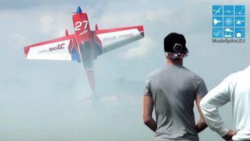 RC Motorflugzeug EXTRA 330 LC RC AEROBATIC FLIGHT DOMINIK RUDIES PORZER AIRSHOW & JETS OVER COLOGNE
