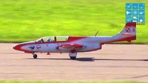TIM SKEMPP ISKRA TS-11 MARTIN YANG LUAR BIASA RC TURBINE JET COMPETITION FLIGHT (13,5KG)