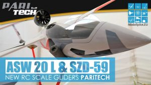 ASW 20 L 1: 3,5 & SZD-59 1: 4 PARITECH NEW RC GLIDERS FULL-SCALE OLDGLIDERS AJTERJ U UWE RIHM