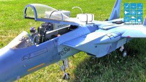 F-15C JASON BAUER TEAM SHBA FLUTURIMI JET RC TURBINA KONKURS