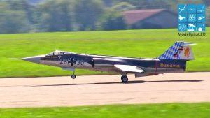 İnanılmaz harika büyük F-104 RC Starfighter TÜRBİN JET pilotu: THOMAS GLEISSNER