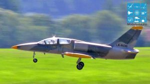 L-39 ALBATROS STEPHAN VÖLKER TEAM GERMANY RC TURBINE JET COMPETITION FLIGHT