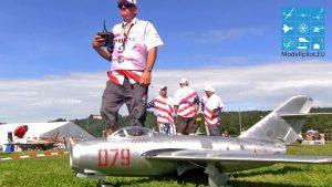 MIG-15 ROD SNYDER TEAM USA RC TURBINE JET WM