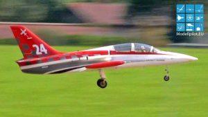 L-39 ALBATROS ANDREA GIOMBETTI 팀 이탈리아 RC 터빈 제트