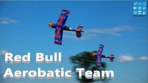 Red Bull Aerobatic Team Sebastian Fuchs ma le Stadler