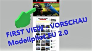 Modellpilot EU 2 0 First View-Preview, Modellpilot.EU 2.0이 곧 온라인으로 전환됩니다.