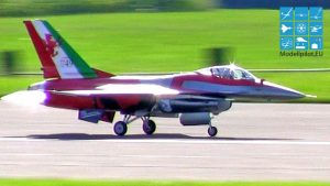 F-16 LUIGI ARNABOLDI TEAM ITALY RC TURBINE JET Idije Flight