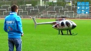 HUGHES 500 VARIO HELICOPTER RC NDEGE YA NDEGE JÖRG & ROBIN ADAMSCHAK
