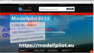 Modellpilot.EU 2.0 RELAUNCH Trailer II